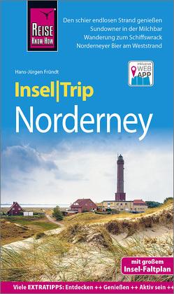 Reise Know-How InselTrip Norderney von Fründt,  Hans-Jürgen