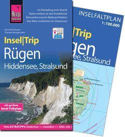 Reise Know-How InselTrip Rügen und Hiddensee mit Stralsund von Kirchmann,  Anne, Morgenstern,  Thomas