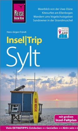 Reise Know-How InselTrip Sylt von Fründt,  Hans-Jürgen