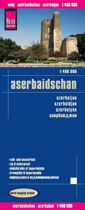 Reise Know-How Landkarte Aserbaidschan (1:400.000) von Reise Know-How Verlag Peter Rump,  Reise Know-How Verlag