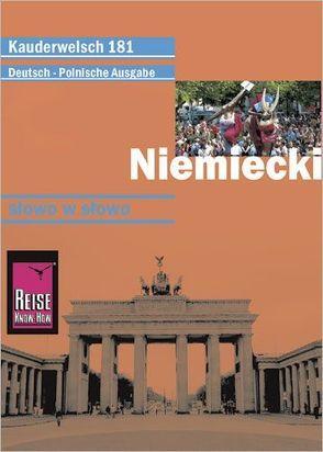 Reise Know-How Niemiecki – słowo w słowo (Deutsch als Fremdsprache, polnische Ausgabe) von Raisin,  Catherine