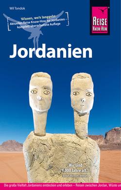 Reise Know-How Reiseführer Jordanien von Tondok,  Wil