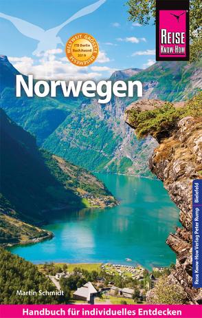 Reise Know-How Reiseführer Norwegen von Schmidt,  Martin