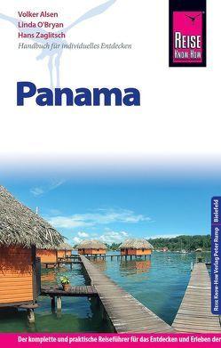 Reise Know-How Reiseführer Panama von Alsen,  Volker, O'Bryan,  Linda, Zaglitsch,  Hans