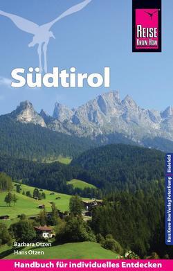 Reise Know-How Reiseführer Südtirol von Otzen,  Barbara, Otzen,  Hans