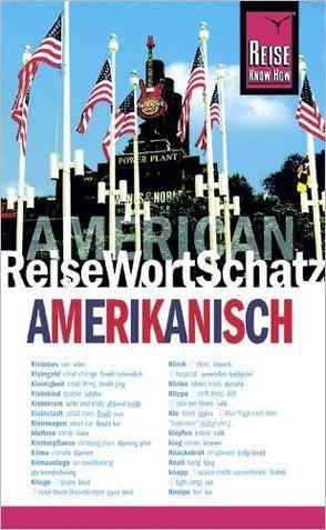 Reise Know-How ReiseWortSchatz Amerikanisch von Drewes,  Christine