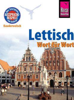 Reise Know-How Sprachführer Lettisch – Wort für Wort von Christophe,  Bernard