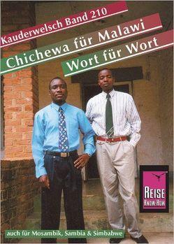 Reise Know-How Sprachführer Chichewa für Malawi – Wort für Wort (auch für Mosambik, Sambia und Simbabwe) von Jordan,  Susanne