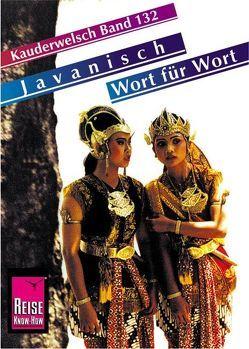 Reise Know-How Sprachführer Javanisch – Wort für Wort von David,  Bettina