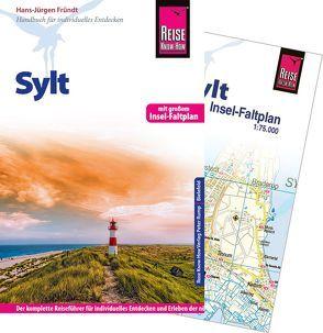 Reise Know-How Sylt mit Insel-Faltplan von Fründt,  Hans-Jürgen