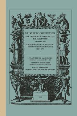 Reise Nach Brasilien, 1623–1626 von Aldenburgk,  Johann Gregor