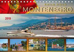 Reise nach Montenegro (Tischkalender 2019 DIN A5 quer) von Roder,  Peter