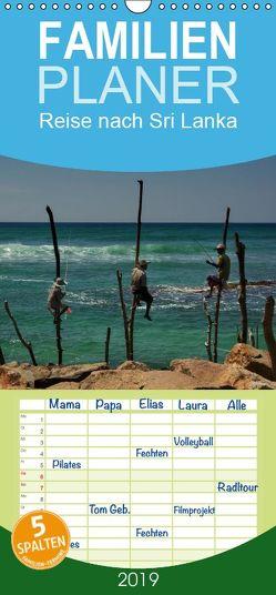 Reise nach Sri Lanka – Familienplaner hoch (Wandkalender 2019 , 21 cm x 45 cm, hoch) von Berlin, Schoen,  Andreas