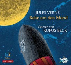 Reise um den Mond von Baier,  Lothar, Beck,  Rufus, Mir-Ali,  Parviz, Verne,  Jules