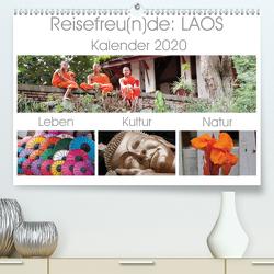 Reisefreu(n)de: Laos (Premium, hochwertiger DIN A2 Wandkalender 2020, Kunstdruck in Hochglanz) von Gruse,  Sven
