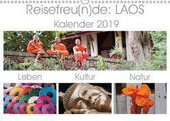 Reisefreu(n)de: Laos (Wandkalender 2019 DIN A3 quer) von Gruse,  Sven