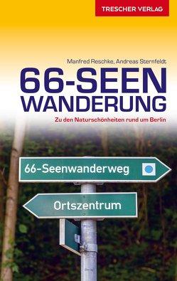 Reiseführer 66-Seen-Wanderung von Reschke,  Manfred, Sternfeldt,  Andreas