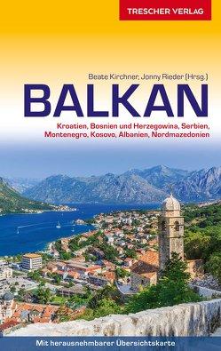Reiseführer Balkan-Handbuch von Kirchner,  Beate, Rieder,  Jonny