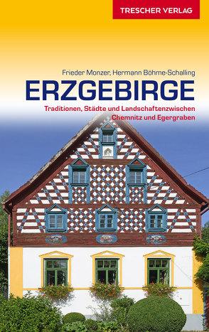 Reiseführer Erzgebirge von Monzer,  Frieder