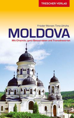 Reiseführer Moldova von Monzer,  Frieder, Ulrichs,  Timo
