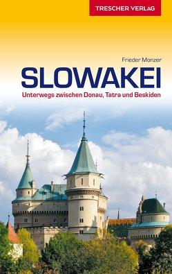 Reiseführer Slowakei von Monzer,  Frieder