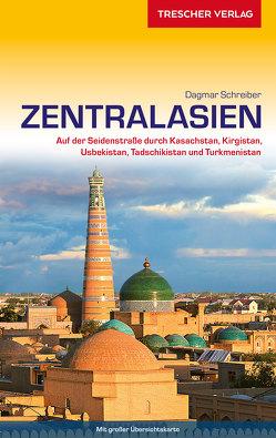 Reiseführer Zentralasien von Schreiber,  Dagmar