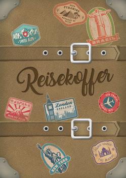 Reisekoffer – das Tagebuch für junge Reisende von Harms,  Knut, Harms,  Rike