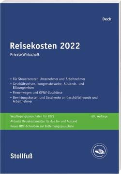 Reisekosten 2019 von Deck,  Wolfgang
