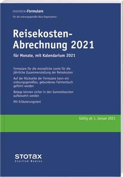 Reisekosten-Abrechnungen Monat 2021 mit Kalendarium (II. Halbjahr 2021)