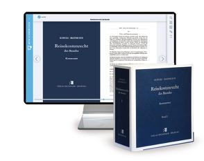 Reisekostenrecht des Bundes – Print + Digital von Biel,  Rolf, Irlenbusch,  Willi, Kopicki,  Alfons