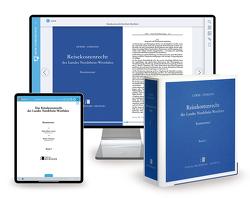 Reisekostenrecht Nordrhein-Westfalen – Print + Digital von Lewer,  Hans-Dieter, Stemann,  Rainer