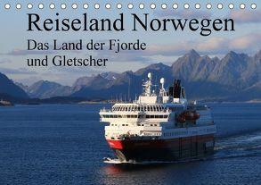 Reiseland Norwegen das Land der Fjorde und Gletscher (Tischkalender 2018 DIN A5 quer) von Fröhlich,  Klaus