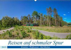 Reisen auf schmaler Spur – Kromlau – Weißwasser – Bad Muskau (Wandkalender 2019 DIN A2 quer) von Fotografie,  ReDi