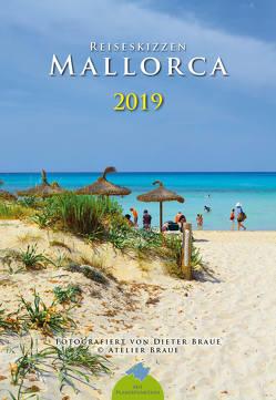 Reiseskizzen Mallorca 2019 von Braue,  Dieter