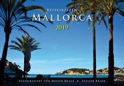 Reiseskizzen Mallorca ART 2019 von Braue,  Dieter