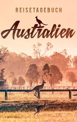 Reisetagebuch Australien zum Selberschreiben und Gestalten von Reisetagebücher,  Dalet