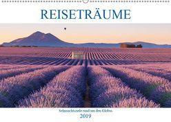Reiseträume – Sehnsuchtsziele rund um den Globus (Wandkalender 2019 DIN A2 quer) von Büchler und Martin Büchler,  Christine