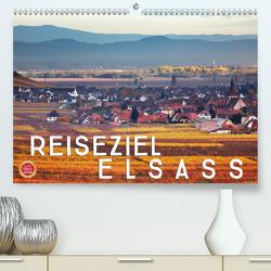 Reiseziel Elsass (Premium, hochwertiger DIN A2 Wandkalender 2020, Kunstdruck in Hochglanz) von Cross,  Martina