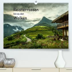 Reisterrassen bis zu den Wolken (Premium, hochwertiger DIN A2 Wandkalender 2021, Kunstdruck in Hochglanz) von Gundlach,  Joerg