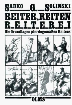 Reiter, Reiten, Reiterei von Solinski,  Sadko G