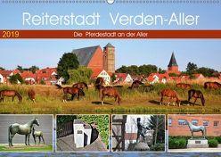 Reiterstadt Verden – Aller (Wandkalender 2019 DIN A2 quer)