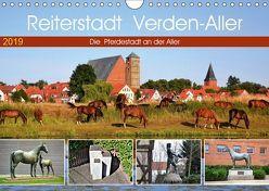 Reiterstadt Verden – Aller (Wandkalender 2019 DIN A4 quer)
