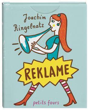 Reklame von Ringelnatz,  Joachim, Spitzer,  Katja