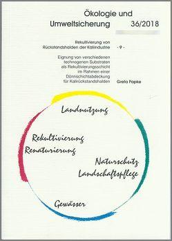 Rekultivierung von Rückstandshalden der Kaliindustrie -9- von Papke,  Greta