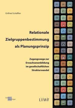 Relationale Zielgruppenbestimmung als Planungsprinzip von Schäffter,  Ortfried