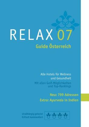 RELAX Guide Österreich 2007 von Moser,  Eva M, Werner,  Christian