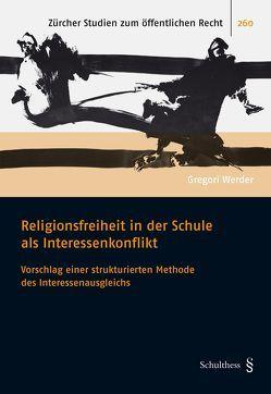 Religionsfreiheit in der Schule von Werder,  Gregori