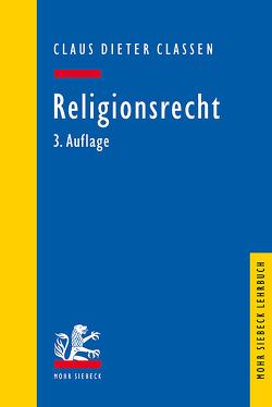 Religionsrecht von Classen,  Claus Dieter