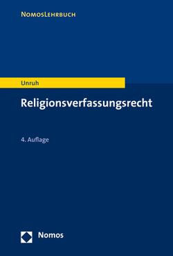 Religionsverfassungsrecht von Unruh,  Peter