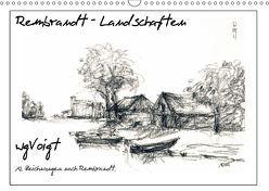 Rembrandt Landschaften wgVoigt (Wandkalender 2018 DIN A3 quer) von wgVoigt,  k.A.